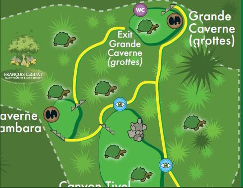 FRANÇOIS LEGUAT MAP